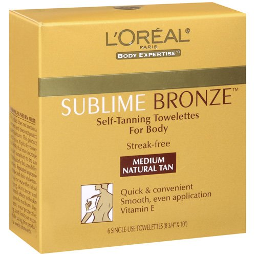 Loreal Sublime Bronze Self-Tanning Towelettes